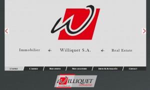 Williquet.com : Page d'accueil