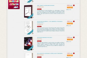 EME Editions – Liste de produits